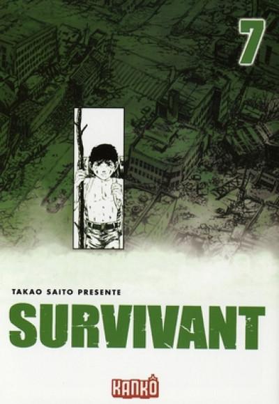 Couverture survivant tome 7