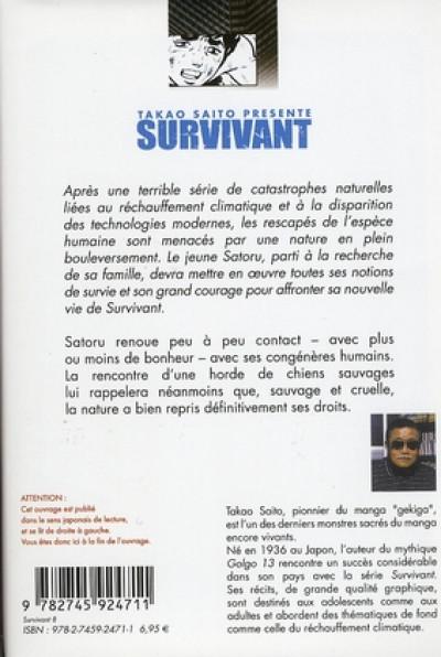 Dos survivant tome 8