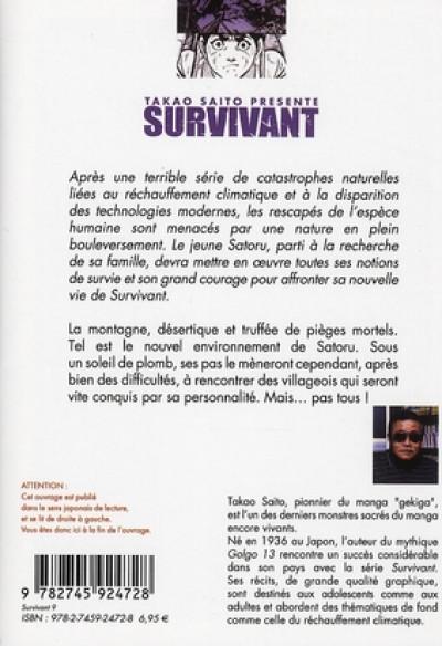 Dos survivant tome 9