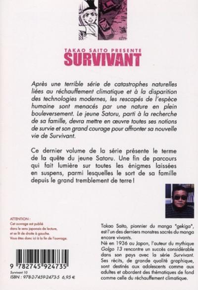 Dos Survivant tome 10