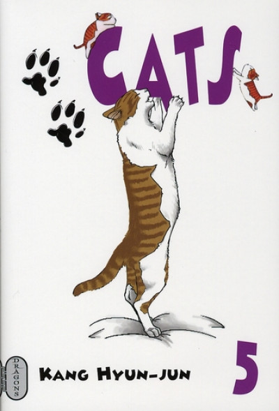 Couverture cats tome 5