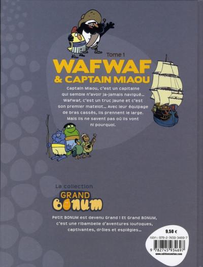 Dos wafwaf & captain miaou tome 1 - poil au vent