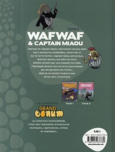 Dos wafwaf & captain miaou tome 2 - héros dans l'herbe