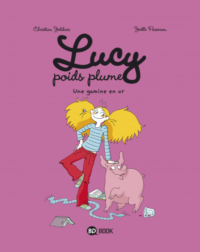 Couverture Lucy poids plume tome 1 - une gamine en or