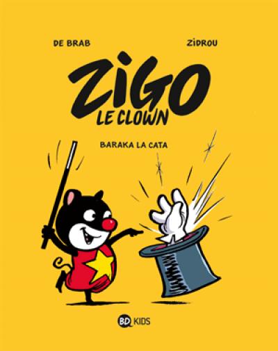 Couverture Zigo tome 1 - Baraka la Cata