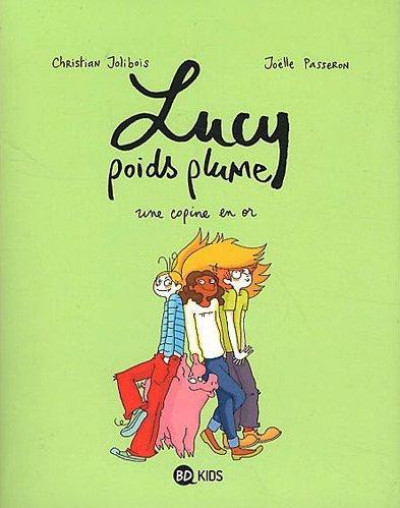 Couverture Lucy poids plume tome 2 - une copine en or