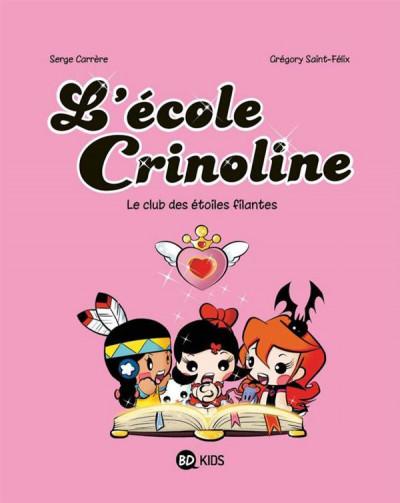 image de l'école Crinoline tome 4 - le club étoiles filantes