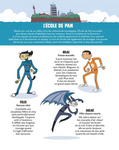 Page 6 L'école de Pan tome 3