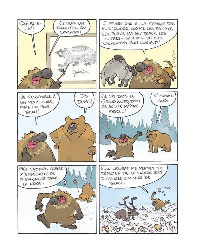 Page 3 Glouton, la terreur des glaces