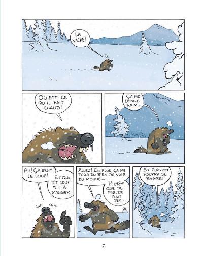 Page 6 Glouton, la terreur des glaces