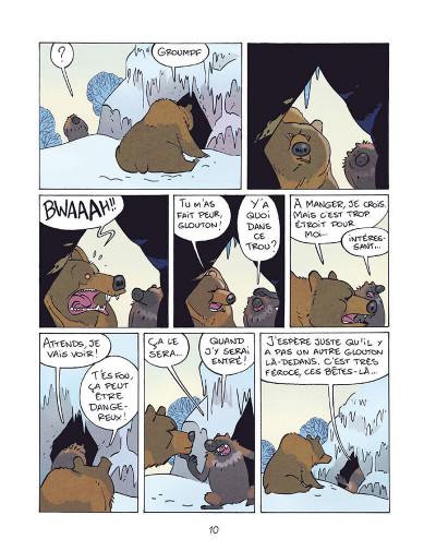 Page 9 Glouton, la terreur des glaces