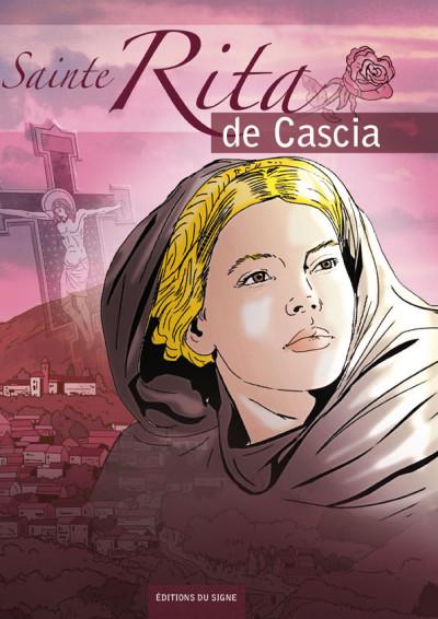 Couverture Sainte Rita de Cascia