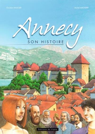 image de Annecy, son histoire en BD