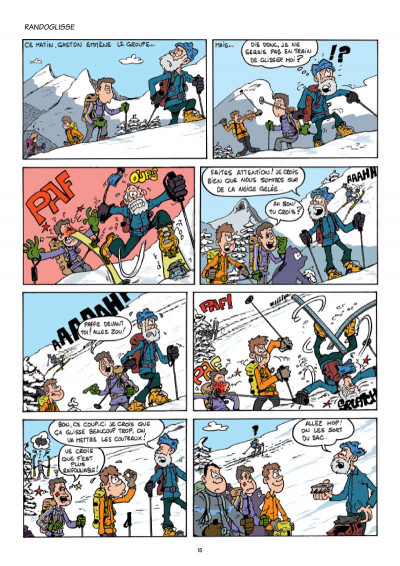 Page 2 Club ski rando tome 1