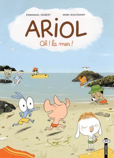 Couverture ariol tome 6 - oh! la mer
