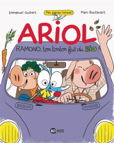 Couverture Ariol - Ramono ton tonton fait du bio !