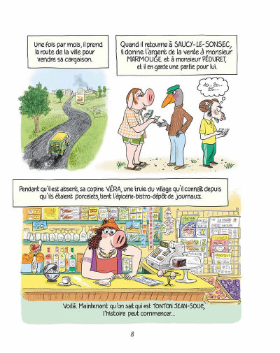 Page 7 Ariol - Ramono ton tonton fait du bio !