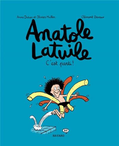 Couverture Anatole Latuile tome 1 - c'est parti !