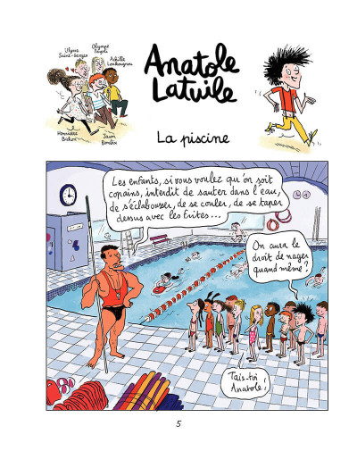 Page 4 Anatole Latuile tome 1 - c'est parti !