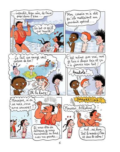 Page 5 Anatole Latuile tome 1 - c'est parti !