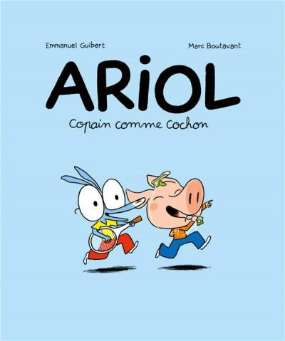 Couverture Ariol tome 3 - copain comme cochon