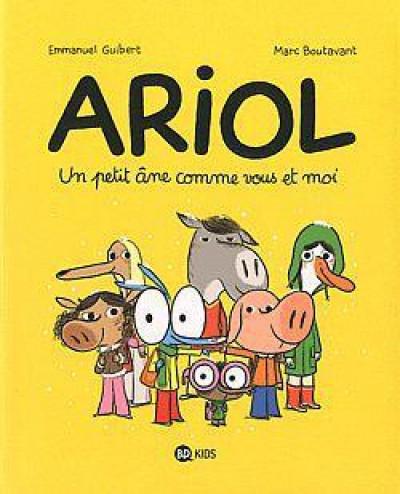 Couverture Ariol tome 1 - un petit âne comme vous et moi