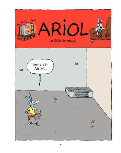 Page 4 Ariol tome 1 - un petit âne comme vous et moi