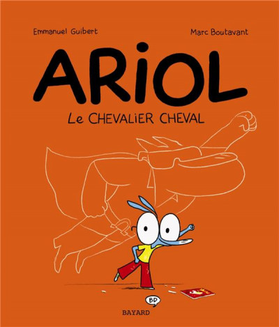Couverture Ariol tome 2 - le chevalier cheval