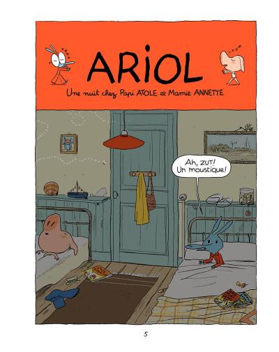 Page 4 Ariol tome 4 - une jolie vache