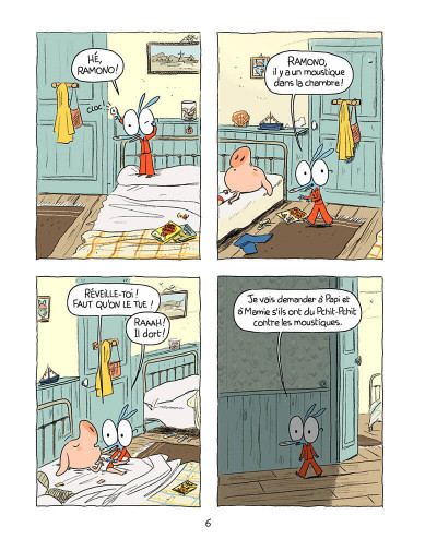 Page 5 Ariol tome 4 - une jolie vache