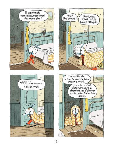 Page 7 Ariol tome 4 - une jolie vache