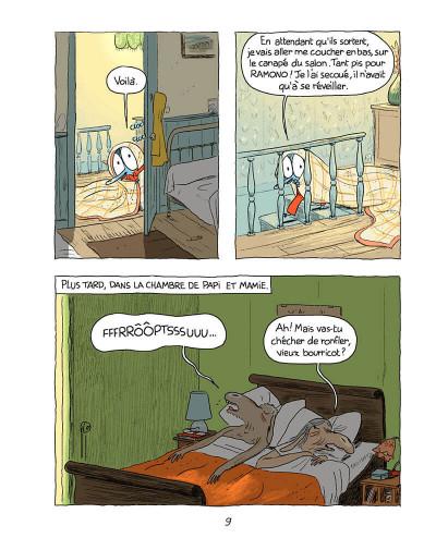 Page 8 Ariol tome 4 - une jolie vache