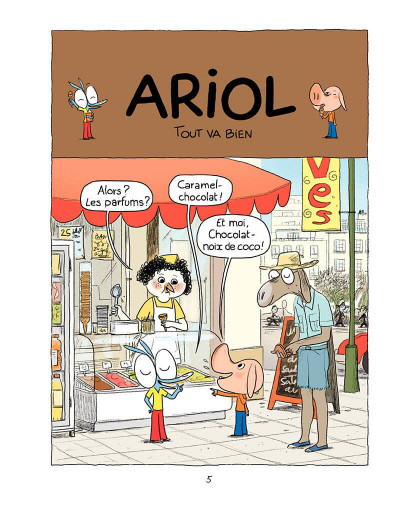 Page 4 Ariol tome 5 - Bisbille fait mouche