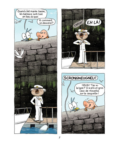 Page 6 Ariol tome 5 - Bisbille fait mouche