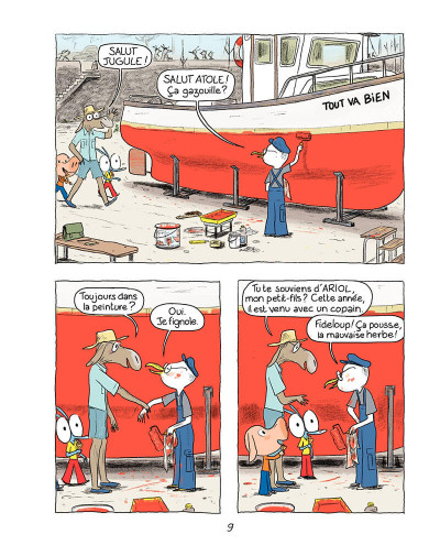 Page 8 Ariol tome 5 - Bisbille fait mouche
