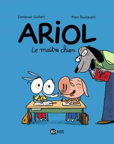 Couverture Ariol tome 7