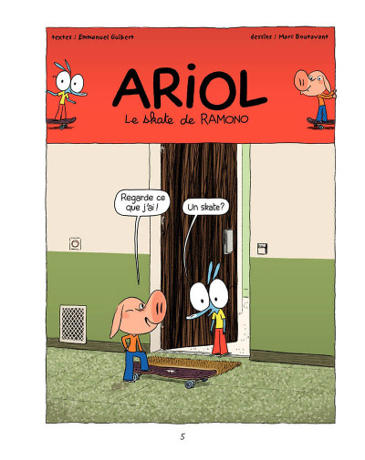 Page 4 Ariol tome 7