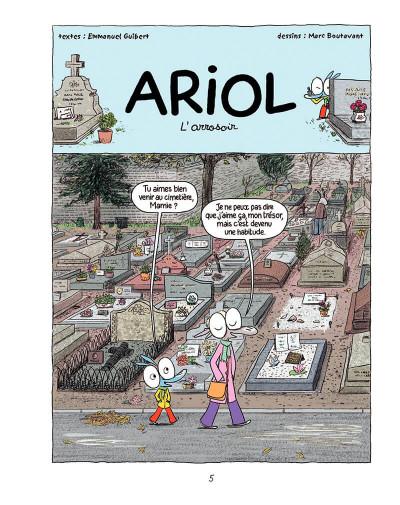Page 4 Ariol T.8 - les trois baudets