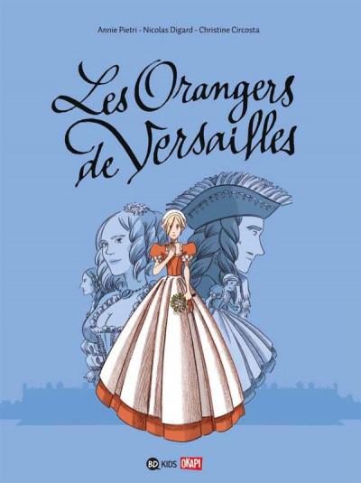 Couverture les orangers de Versailles