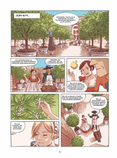Page 8 les orangers de Versailles