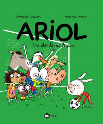 Couverture Ariol tome 9 - les dents du lapin