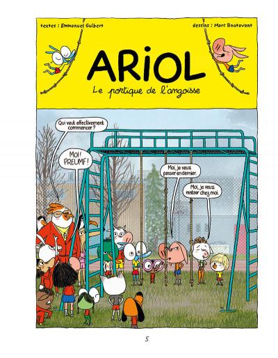 Page 5 Ariol tome 9 - les dents du lapin