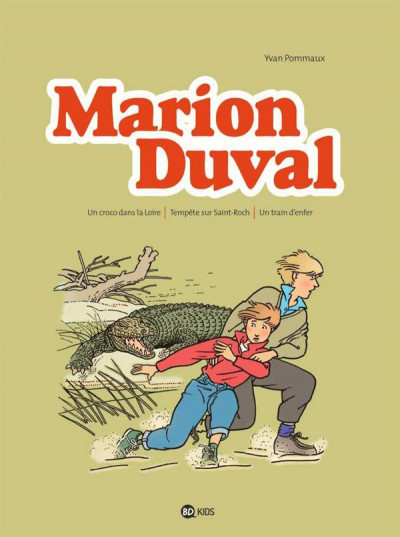 Couverture Marion Duval - Intégrale tome 2 (tome 4 à tome 6)