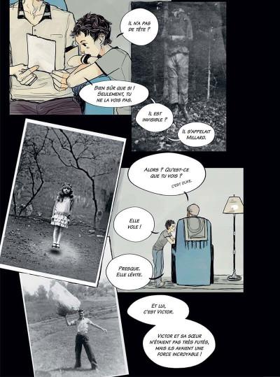Page 8 Miss Peregrine et les enfants particuliers