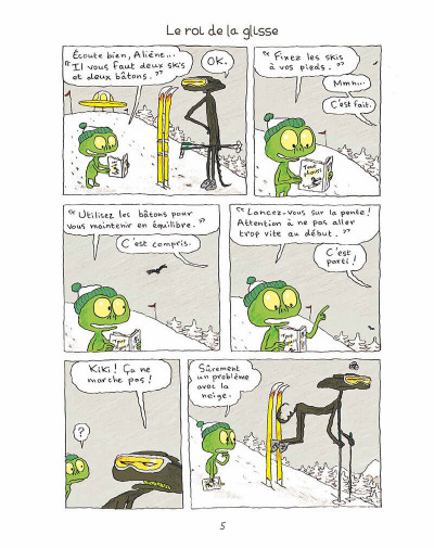 Page 4 Kiki et Aliène tome 2 - coucou c'est encore nous