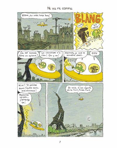 Page 6 Kiki et Aliène tome 2 - coucou c'est encore nous