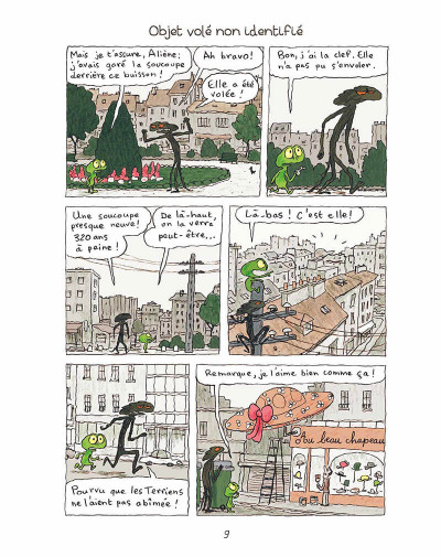 Page 8 Kiki et Aliène tome 2 - coucou c'est encore nous