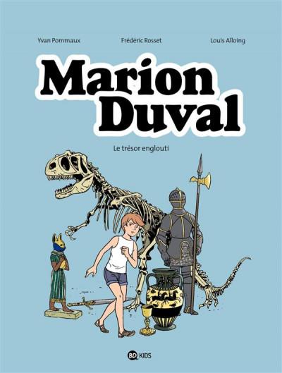 image de Marion Duval tome 24 - le trésor englouti