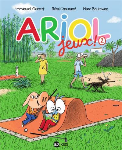 Couverture Cahier de jeux Ariol tome 2