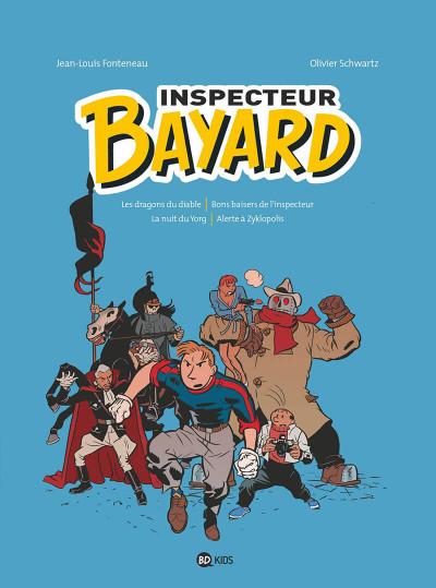 Couverture Inspecteur Bayard intégrale tome 2